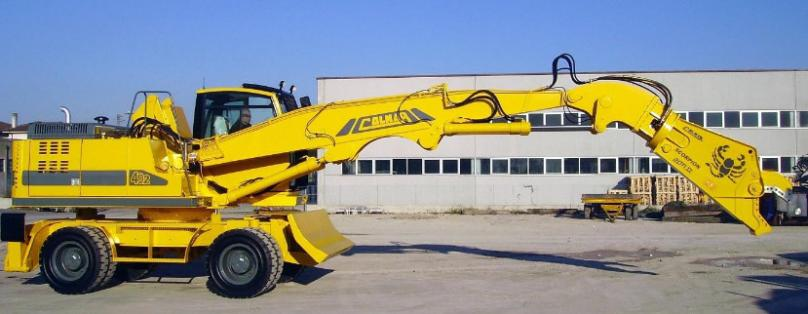 Scorpion Hydraulic Shears