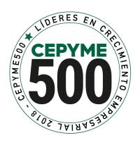 For second year consecutive CEPYME  includes AIR-RAIL, S.L.